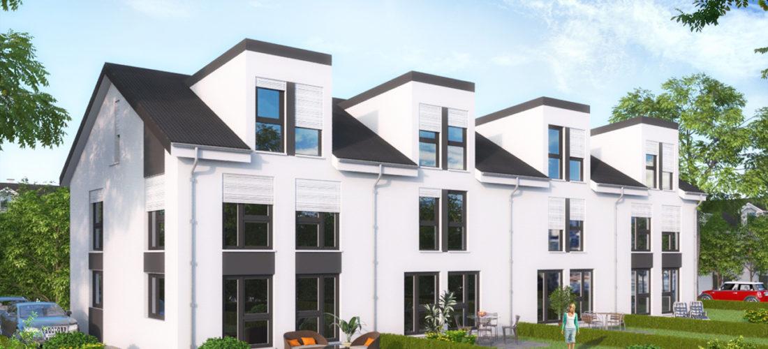 Neubauprojekt von 4 Reihenhäuser IDYLLISCH & Stilvoll WOHNEN IM GRÜNEN MIT BESTER ANBINDUNG 55546 BIEBELSHEIM